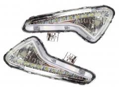 Дневные ходовые огни для Hyundai Accent (Solaris) с 2015 (LED-DRL)