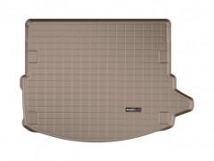 Коврик в багажник для Land Rover Discovery Sport с 2014, без 3 ряда, резиновый, бежевый (WeatherTech)