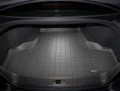 Коврик в багажник для Infiniti M (Q70) с 2011, резиновый, черный (WeatherTech)
