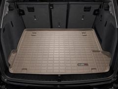 Коврик в багажник для BMW X3 F25 2010-2017, резиновый, бежевый (WeatherTech)