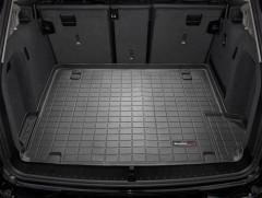 Коврик в багажник для BMW X3 F25 2010-2017, резиновый, черный (WeatherTech)