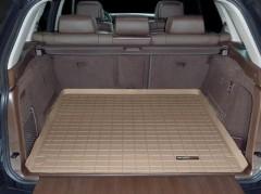 Коврик в багажник для BMW X5 E70 2007-2013, резиновый, бежевый (WeatherTech)