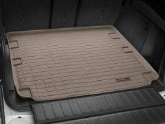 Коврик в багажник для BMW X5 F15 с 2014, резиновый, бежевый (WeatherTech)