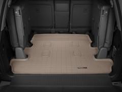 Коврик в багажник для Lexus LX 570 c 2008 (7 мест, длинный) резиновый, бежевый (WeatherTech)