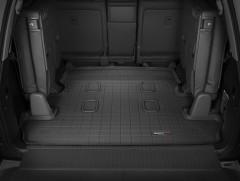 Коврик в багажник для Lexus LX 570 c 2008 (7 мест, длинный) резиновый, черный (WeatherTech)