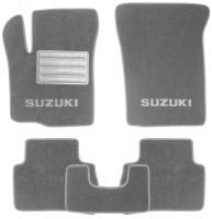 Коврики в салон для Suzuki Vitara с 2015, текстильные, серые (Люкс)