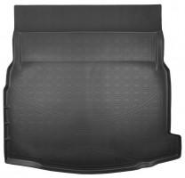 Коврик в багажник для Mercedes E-Class W213 с 2016 седан, резино/пластиковый (NorPlast)