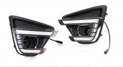Дневные ходовые огни для Mazda CX-5 2012-2017 V4 (LED-DRL)