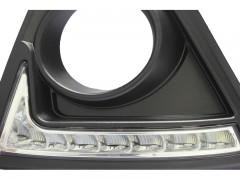 Фото 1 - Дневные ходовые огни для Mazda CX-5 '2012-2015 V2, черные (LED-DRL)