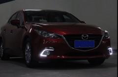 Фото 3 - Дневные ходовые огни для Mazda 3 c 2014 V2 (LED-DRL)