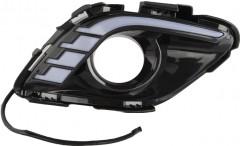 Фото 1 - Дневные ходовые огни для Mazda 6 c 2013 V2 (LED-DRL)