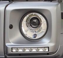 Фото 2 - Дневные ходовые огни для Mercedes G-Class W463 2000-2012 (LED-DRL)