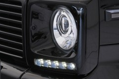 Фото 3 - Дневные ходовые огни для Mercedes G-Class W463 2000-2012 (LED-DRL)