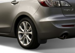 Фото 1 - Брызговики задние для Mazda 3 2009 - 2011 Седан (Novline)