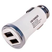 Универсальное автомобильное зарядное устройство C-2411W 2USB (12/24V - 5V 2,4A)
