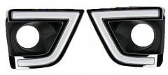 Дневные ходовые огни для Toyota Corolla 2013-2016 (LED-DRL)