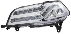 Дневные ходовые огни для Volkswagen Polo с 2015 хетчбек (для авто с ПТФ) (LED-DRL)