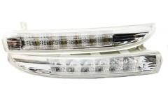 Дневные ходовые огни для Volkswagen Passat CC 2009-2012 (V2) (LED-DRL)