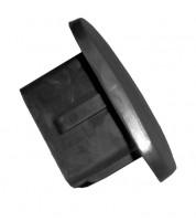Заглушка для фаркопа с быстросъемной вставкой резиновая (Полигон)