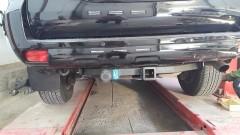 Фаркоп G съемный Toyota LC Prado 150 '10- крепл. с балкой (Полигон)