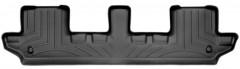 Коврик в салон для Volvo XC 90 '03-14 черный, резиновый 3D (WeatherTech) 3 ряд