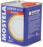 Mostela Mineral 15W-40 SF/CC (0.95л)