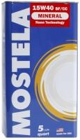 Mostela Mineral 15W-40 SF/CC (4.73л)