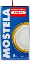 Mostela Super Diesel 15W-40 (4.73л)