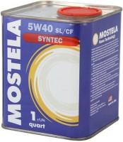 Mostela Syntec 5W-40 SL/CF (0.95л)