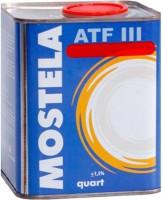 Жидкость для гидроусилителя руля Mostela ATF III (0.95л)