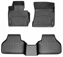 Коврики в салон для BMW X3 F25 '10-17 черные, резиновые 3D (WeatherTech)