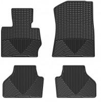 Коврики в салон для BMW X3 F25 '10-17 черные, резиновые (WeatherTech)