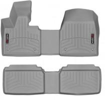 Коврики в салон для BMW i3  '13-15 серые, резиновые 3D (WeatherTech)