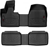 Коврики в салон для BMW i3  '13-15 черные, резиновые 3D (WeatherTech)