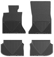 Коврики в салон для BMW5 F10 '10-13 черные, резиновые (WeatherTech)