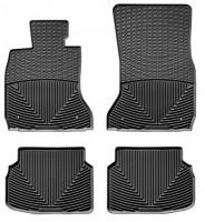 Коврики в салон для BMW7 F01 '08-13, задний привод, черные, резиновые (WeatherTech)