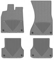 Коврики в салон для Audi A7 '10- серые, резиновые (WeatherTech)