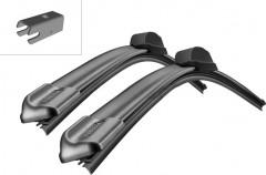 Щётки стеклоочистителя бескаркасные Bosch AeroTwin 600 и 450 мм. спец. крепеж (к-кт) A 398 S