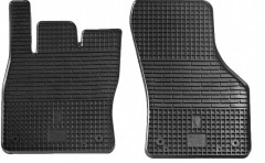 Коврики в салон передние для Audi A3 '12- резиновые, черные (Stingray)