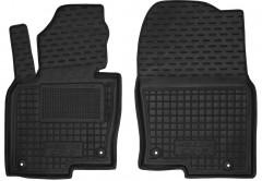 Коврики в салон передние для Mazda CX-5 '17- резиновые, черные (AVTO-Gumm)