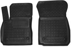 Коврики в салон передние для Opel Insignia '17- резиновые, черные (AVTO-Gumm)
