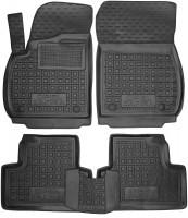 Коврики в салон для Opel Zafira C Tourer '12- резиновые, черные (AVTO-Gumm)