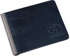 """Фото 1 - Зажим для денег темно-синий """"Toyota"""""""
