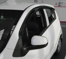 Фото 1 - Дефлекторы окон для Chevrolet Spark '11- (REIN)