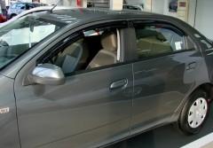 Фото 1 - Дефлекторы окон для Chevrolet Cobalt '12- (REIN)