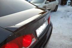 Фото 4 - Задний спойлер на багажник для Honda Civic 4D '12-, под покраску (ASP)