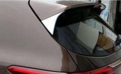 Накладки на задний спойлер  Kia Sportage '16-, хром (ASP)