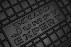 Фото 7 - Коврики в салон для Fiat Scudo '07-16, 1.6 резиновые, черные (AVTO-Gumm)