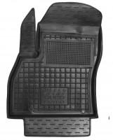 Коврик в салон водительский для Fiat Fiorino Qubo '08- резиновый, черный (AVTO-Gumm)