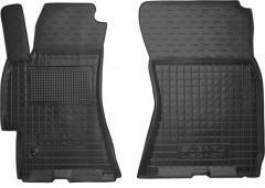 Коврики в салон передние для Subaru Outback '04-08 резиновые, черные (AVTO-Gumm)